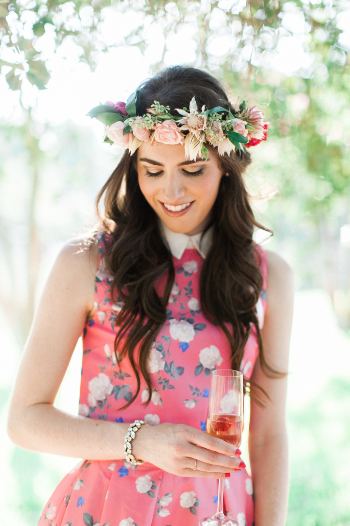 pink-flower-crown