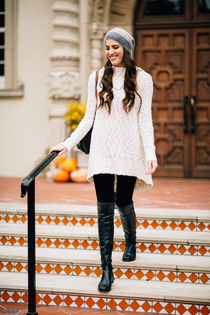 ae78a1f22505c The Coziest Sweater Dress · stuart-weitzman-over-the-knee-boots