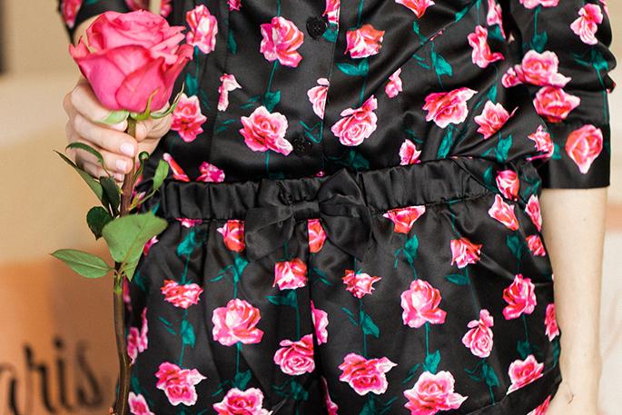 betsey-johnson-rose-print-pajamas