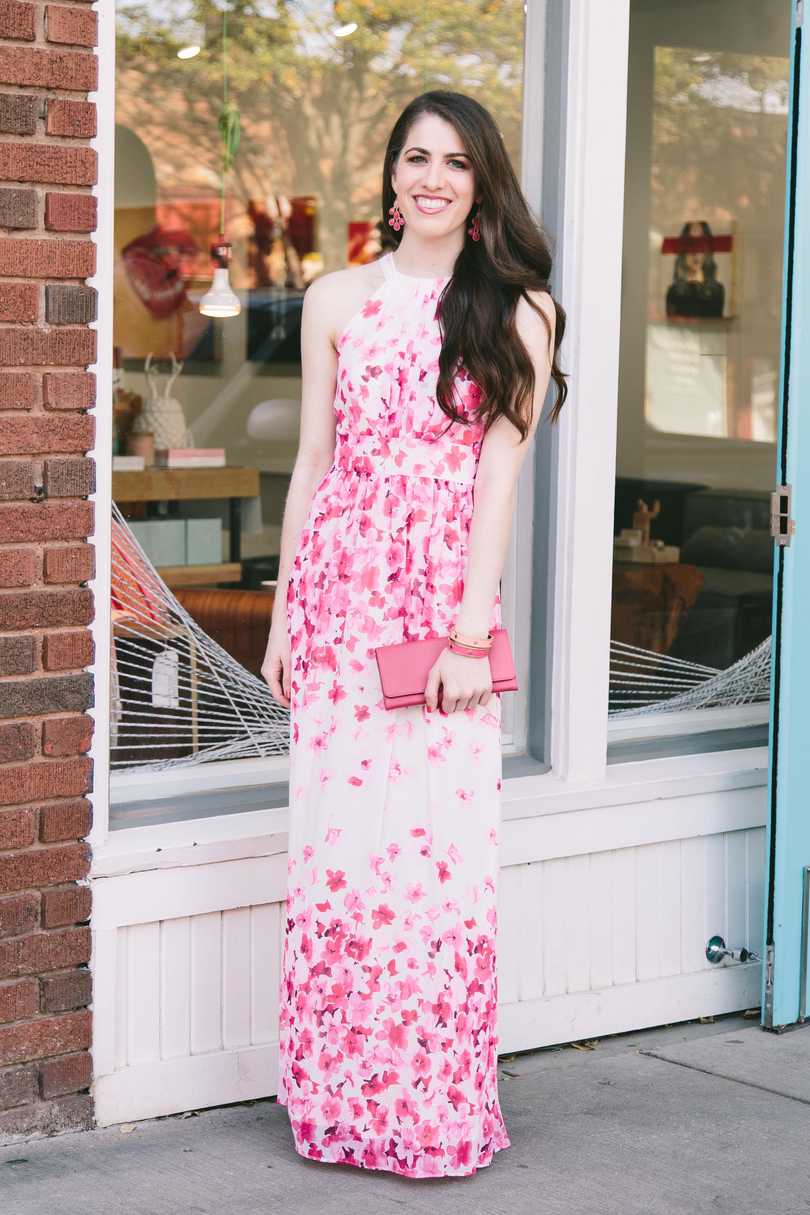e616a2ad448a Eliza J Printed Maxi Dress