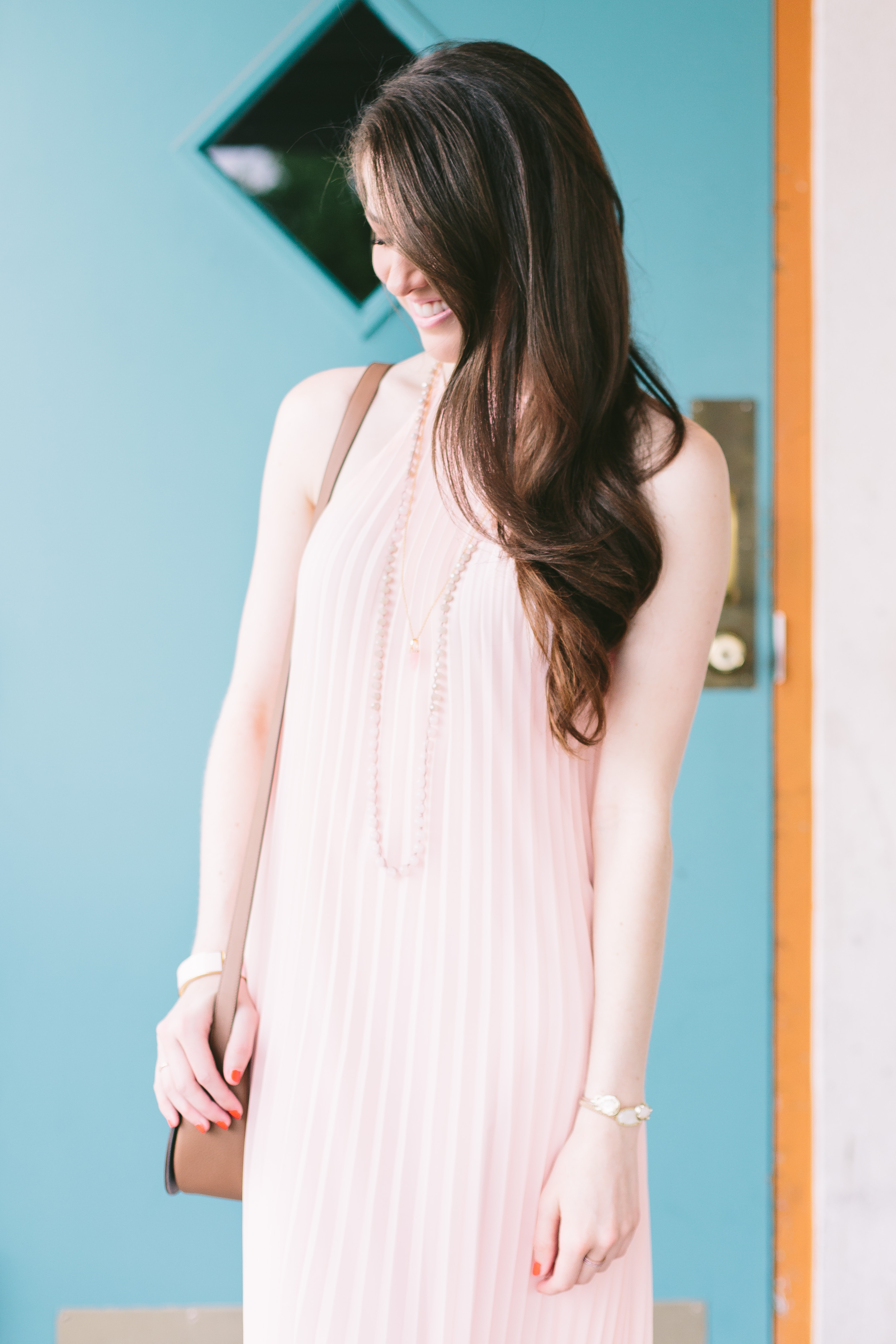 likely-chester-pleated-dress-ballet-pink