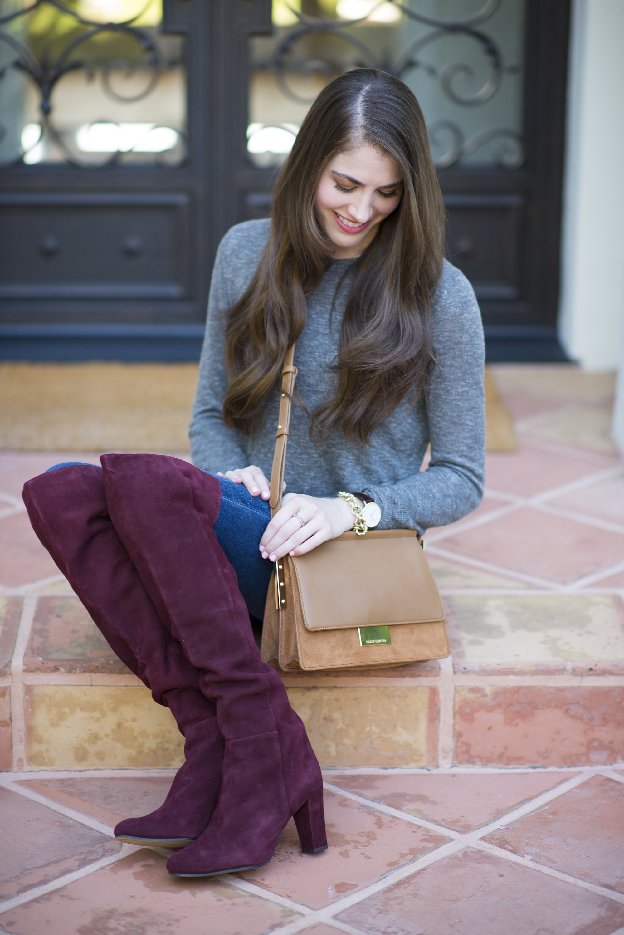Halogen Noble over the knee boot