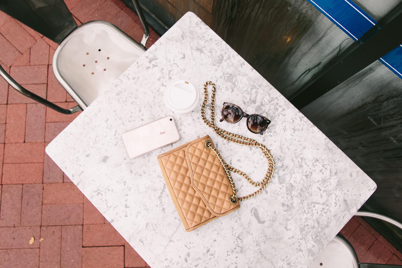 Rebecca Minkoff classic quilted mini affair shoulder bag