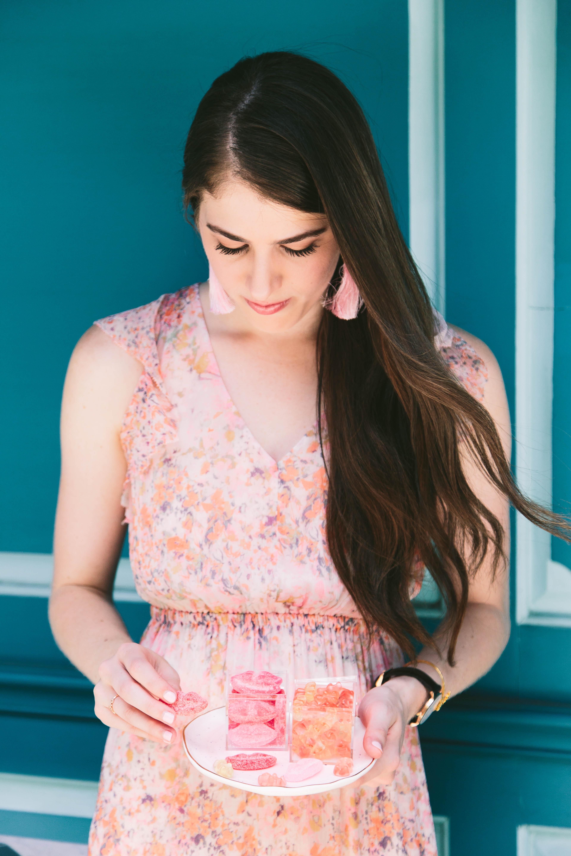 Lisi Lerch pink tassel earrings