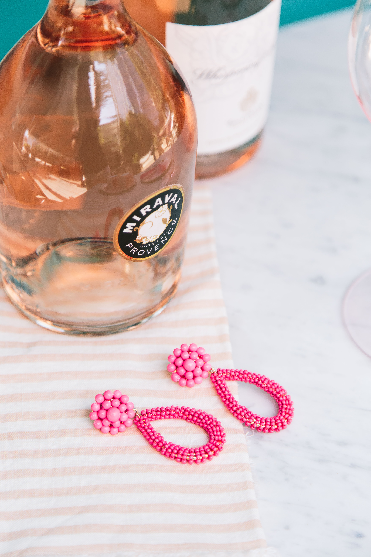 Lisi Lerch hot pink earrings