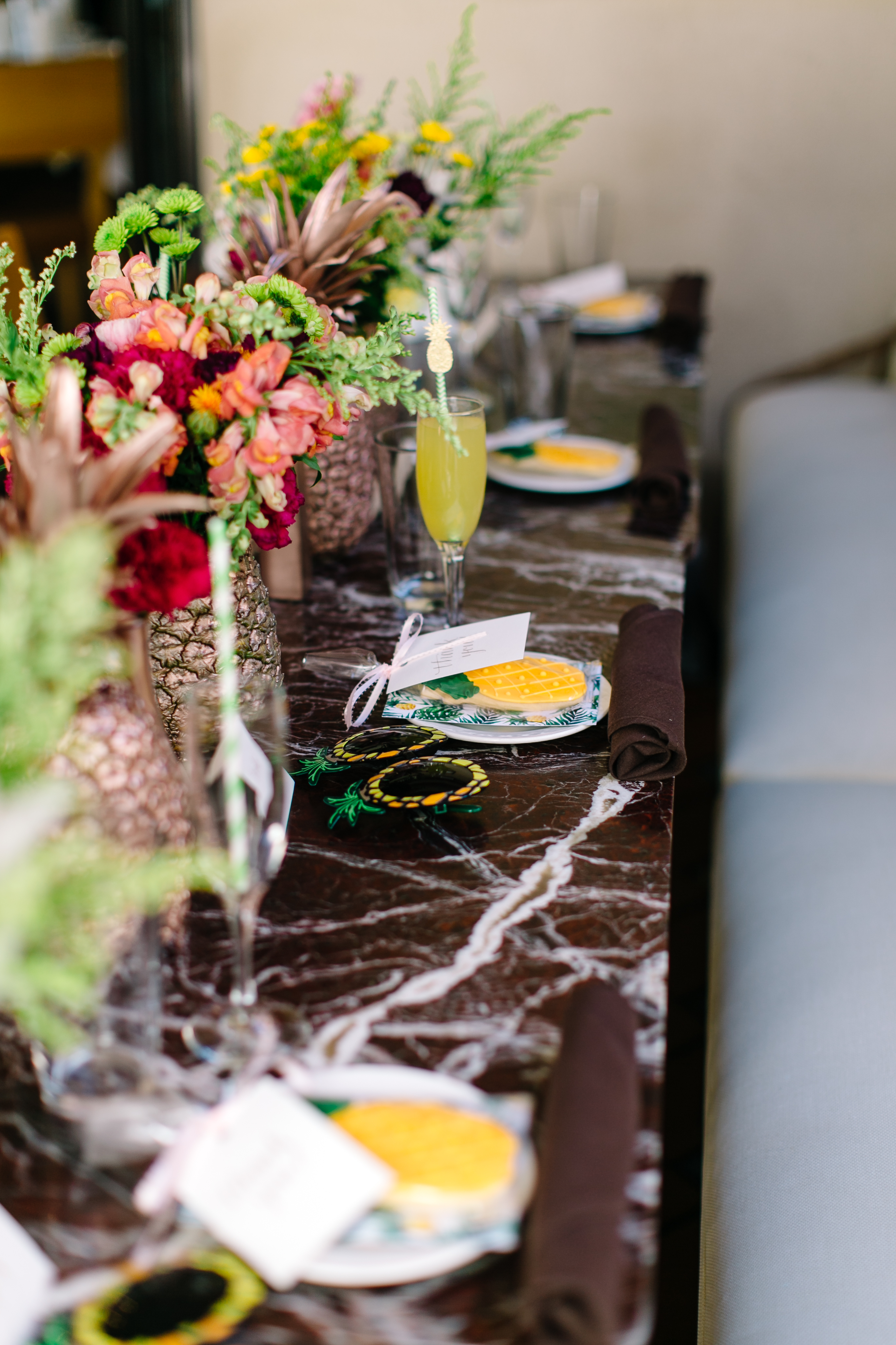 Pineapple themed party ideas