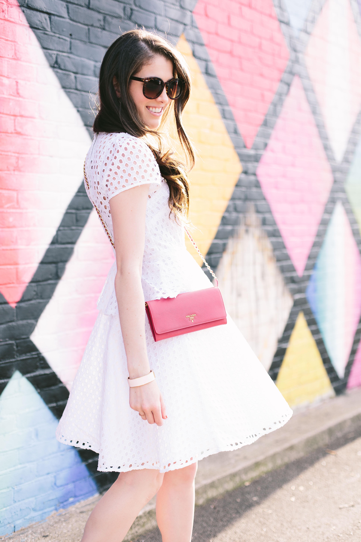 Pink Prada purse
