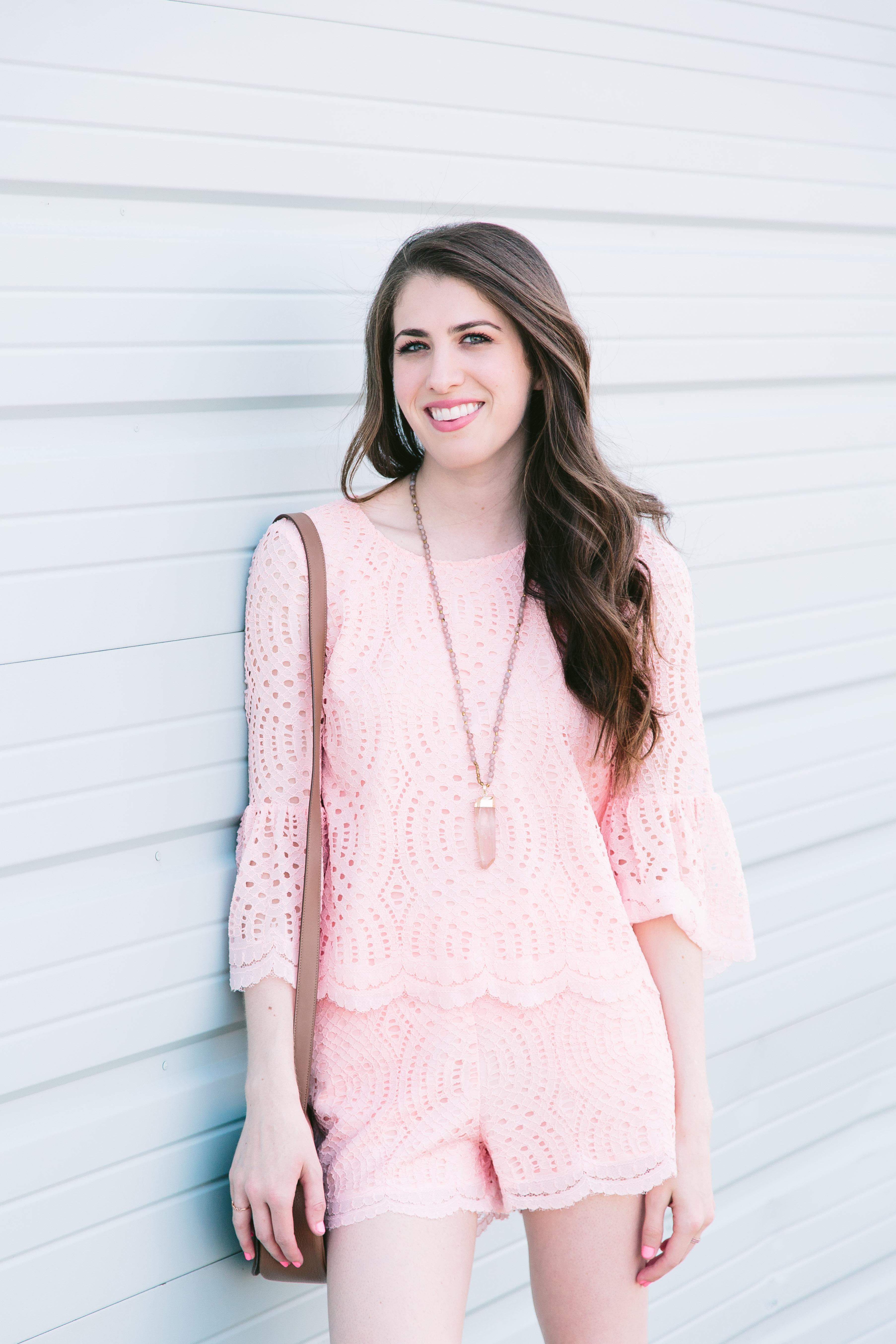 Devlin Valerie lace blouse