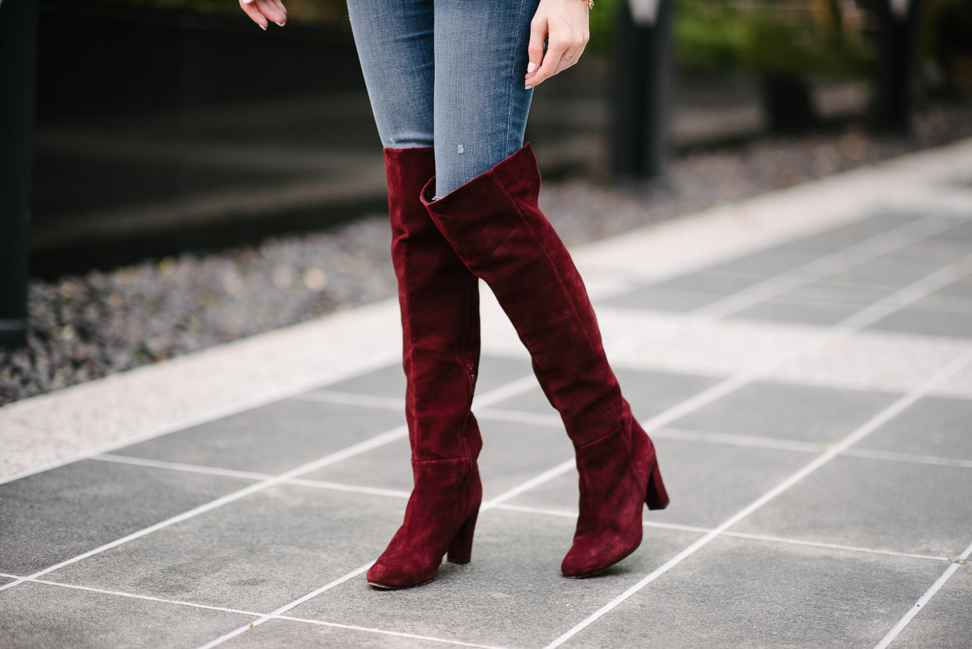 Nordstrom over the knee boots