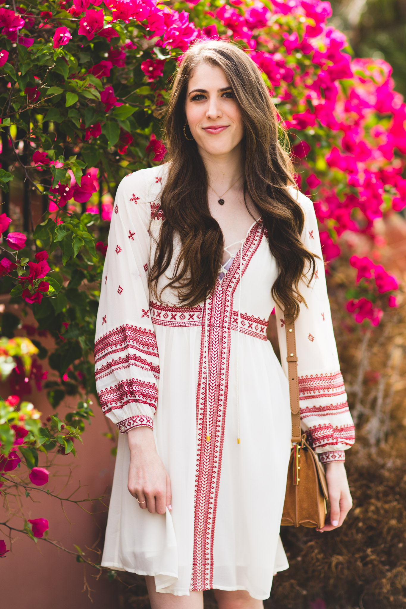 Topshop grecian embroidered peasant dress
