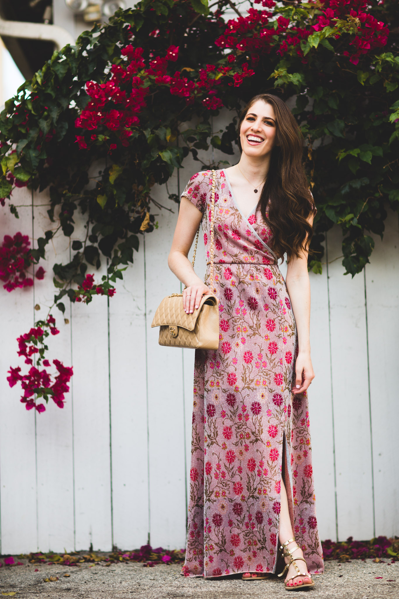 Anthropologie posy maxi dress