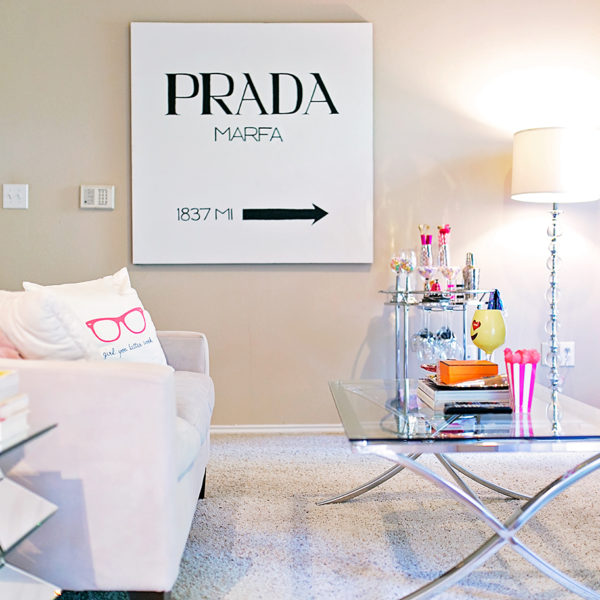 Prada Marfa painting