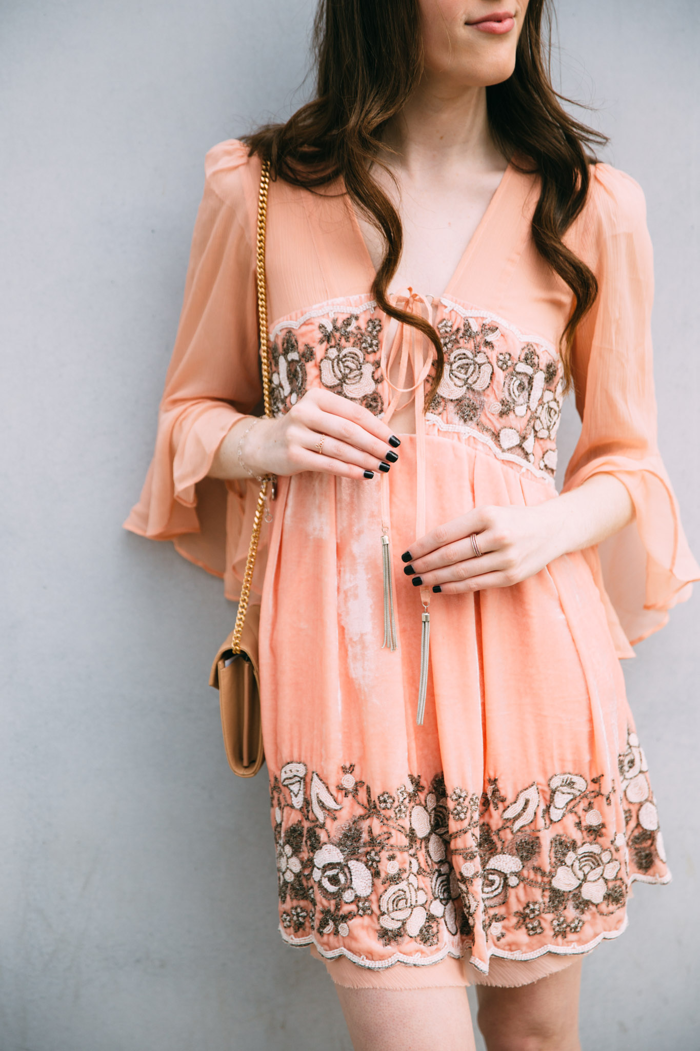 Free People Gemma's limited edition holiday dress