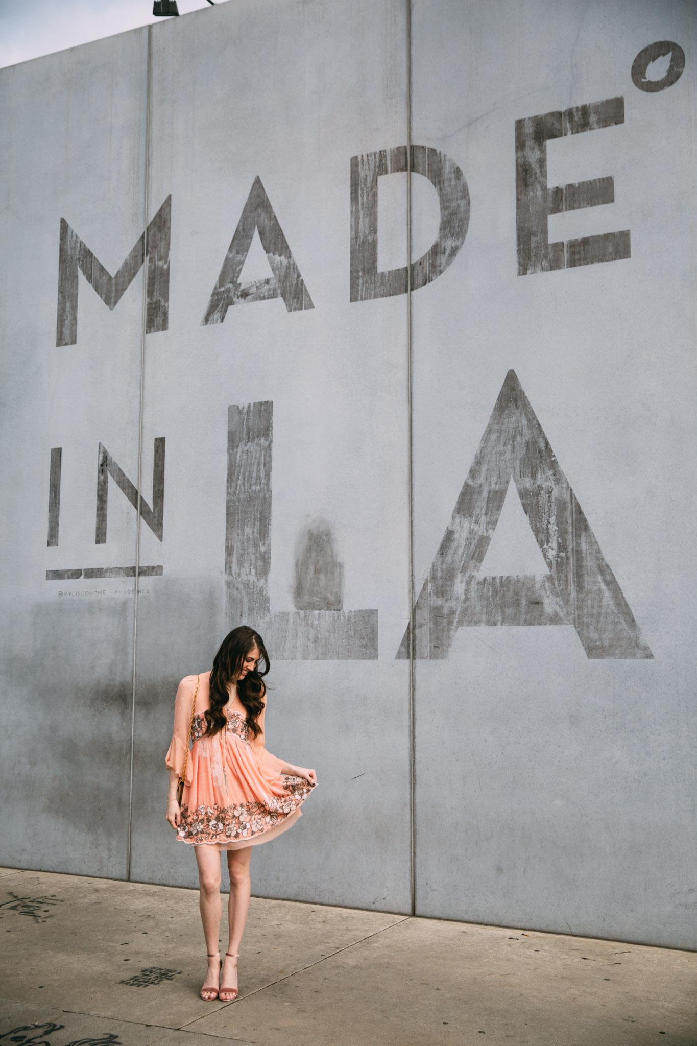 Made in LA wall Los Angeles