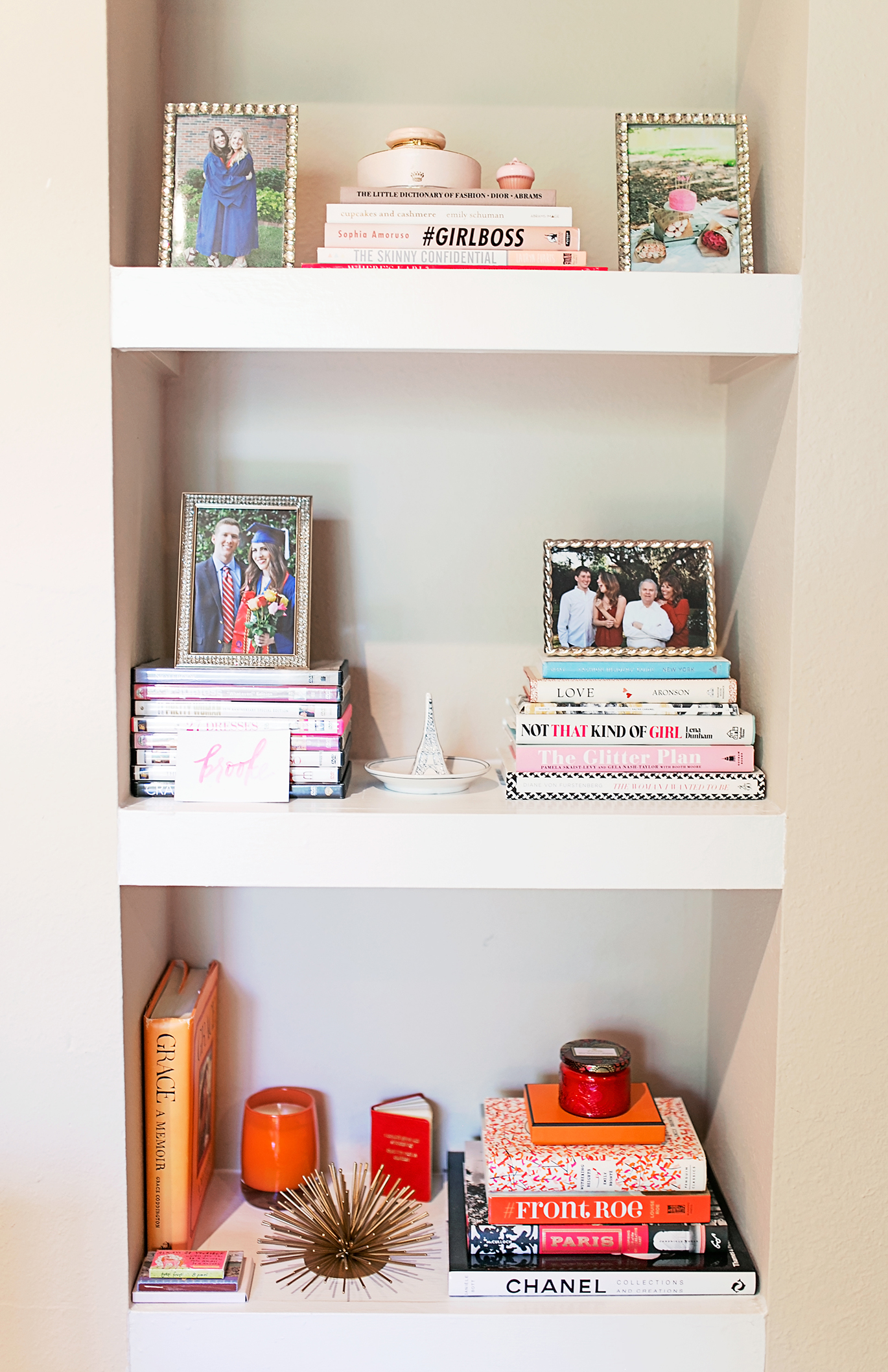 How to style a book case
