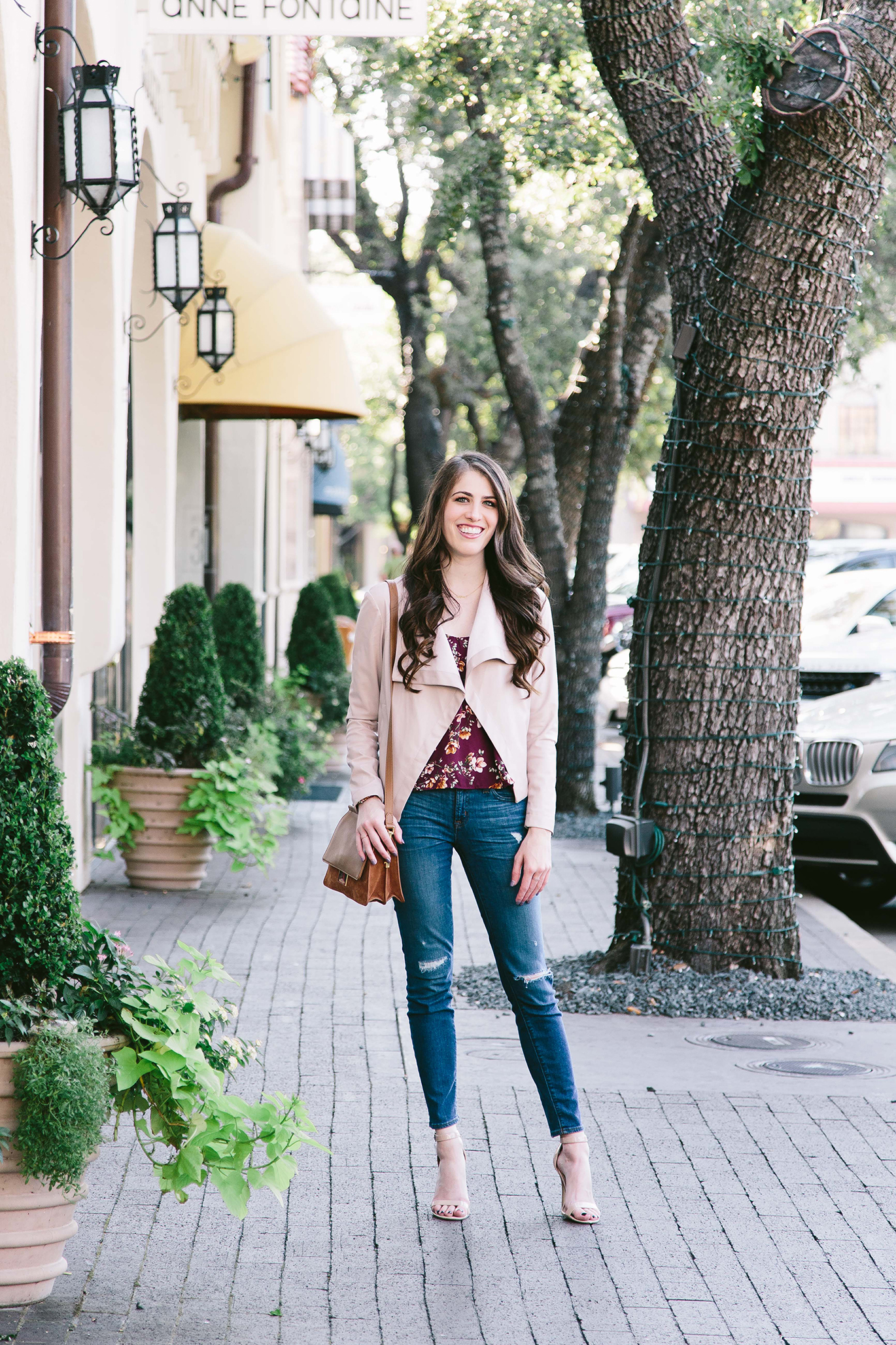J.Crew ripped jeans