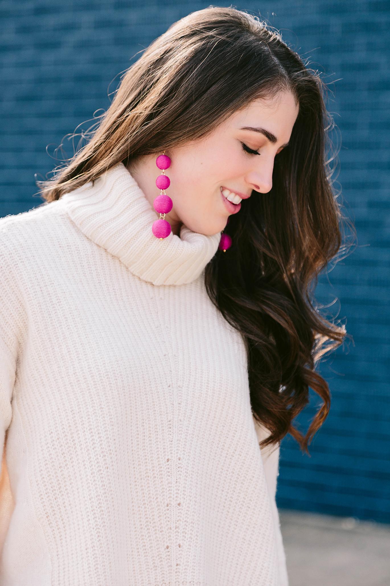 Design Darling pink bubble earrings
