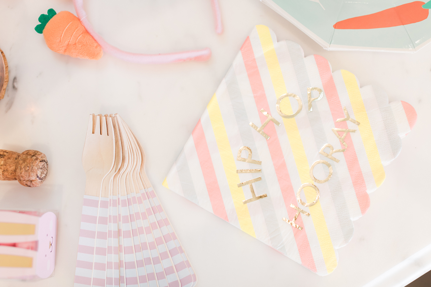 Cute Easter napkins