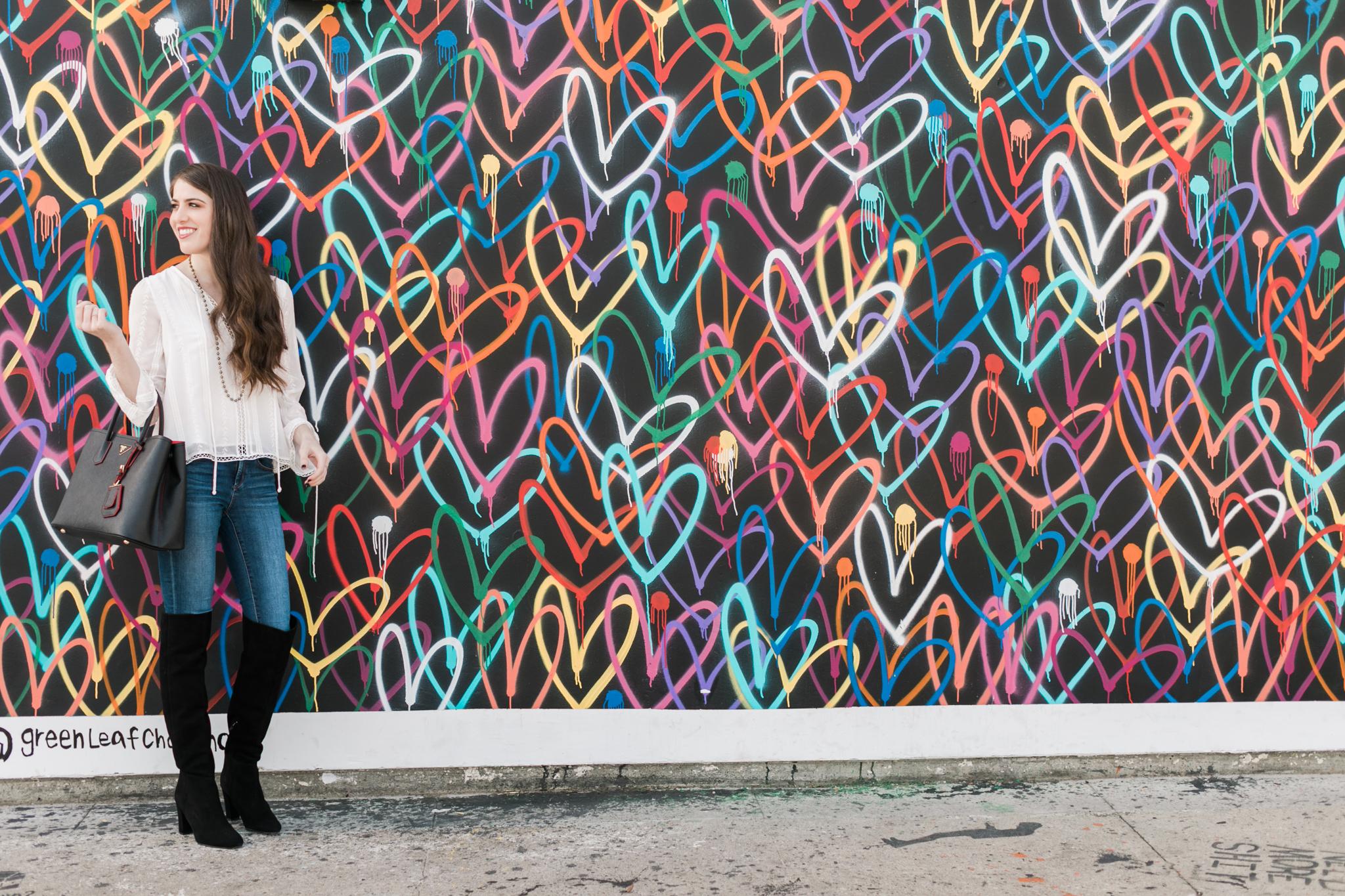 Hearts wall Venice California