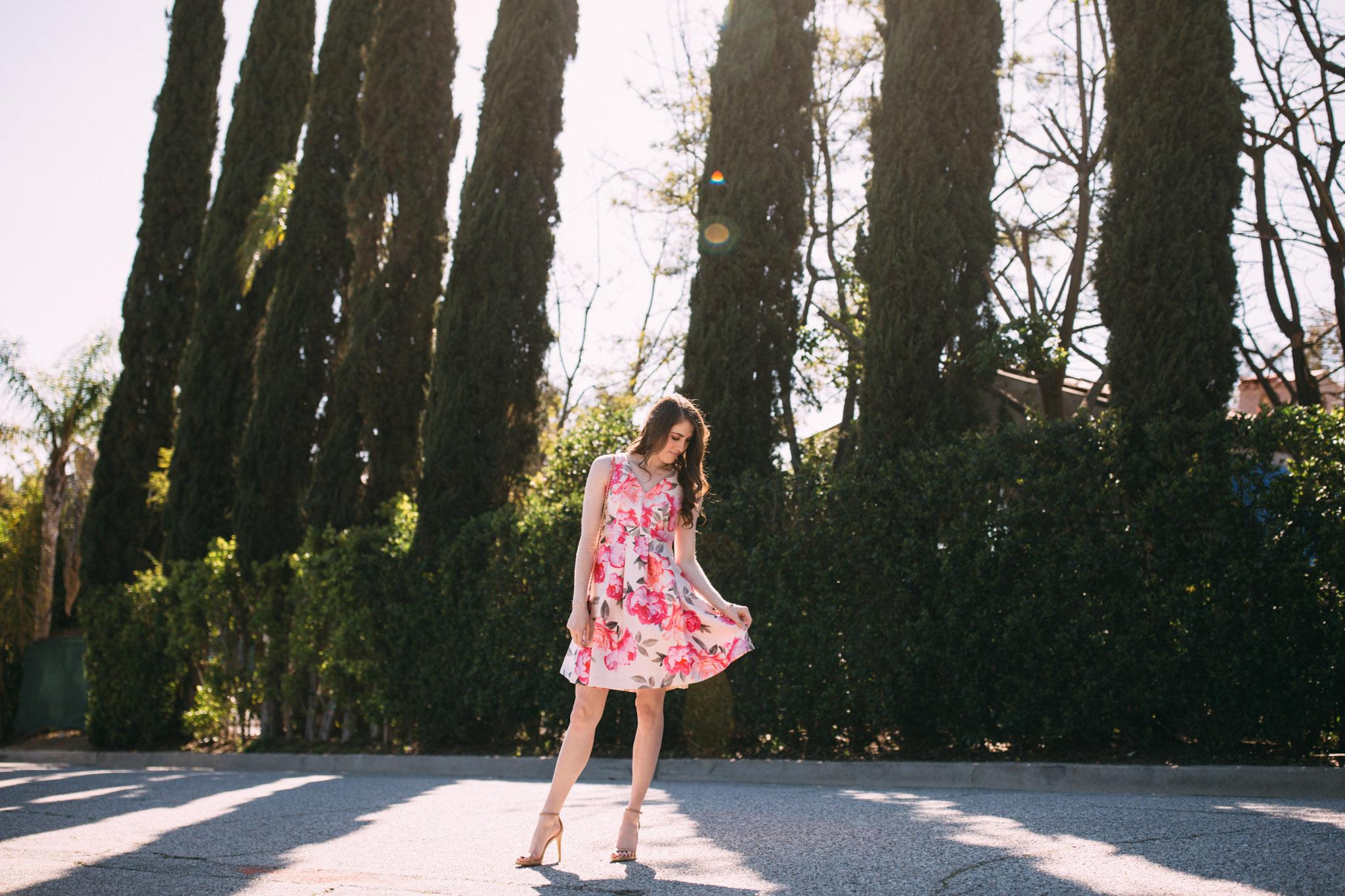 Floral dresses for spring