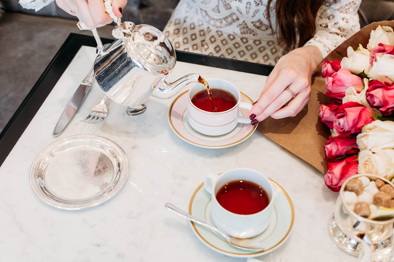 Laduree afternoon tea