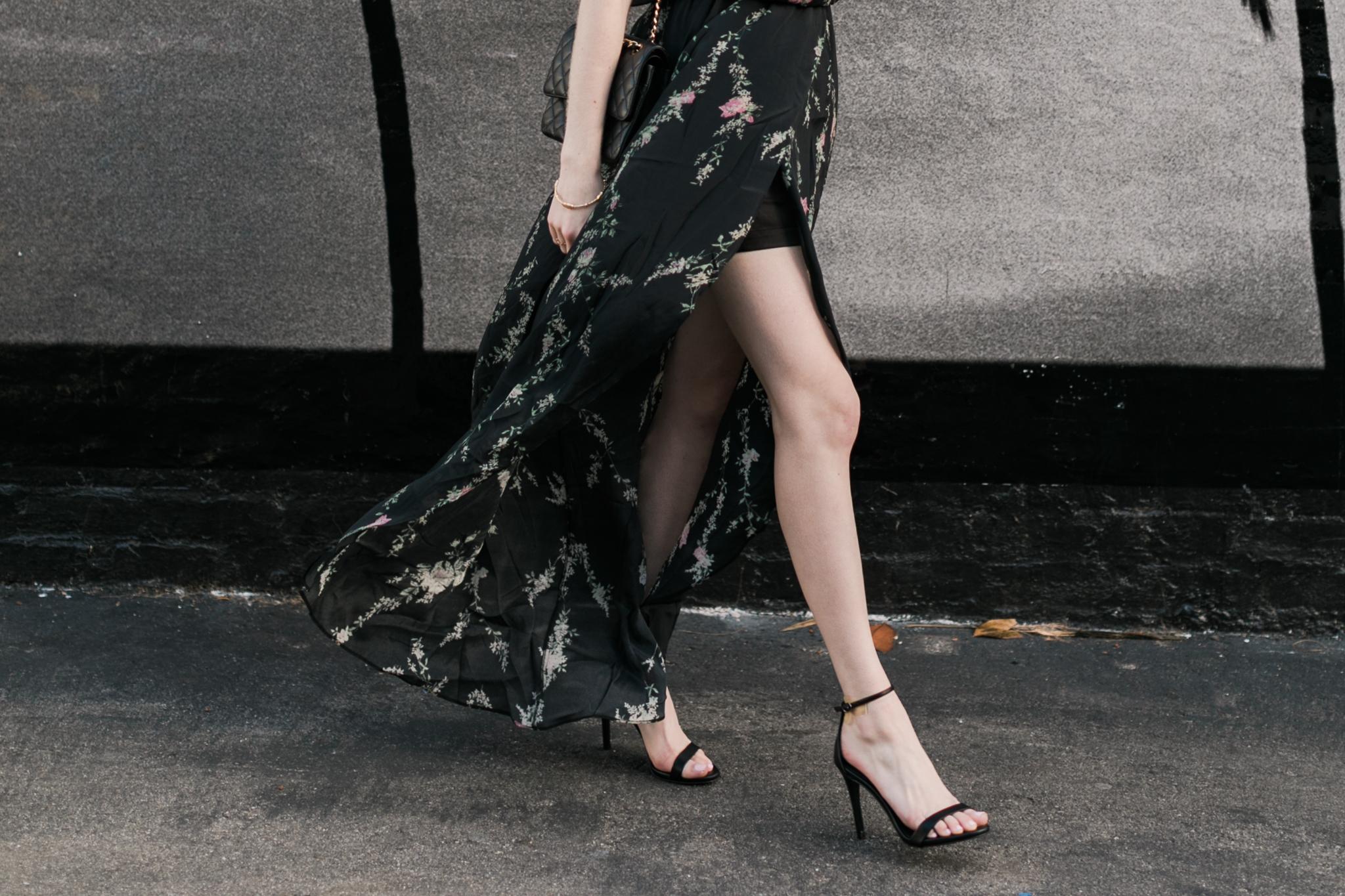 Steve Madden black stilettos