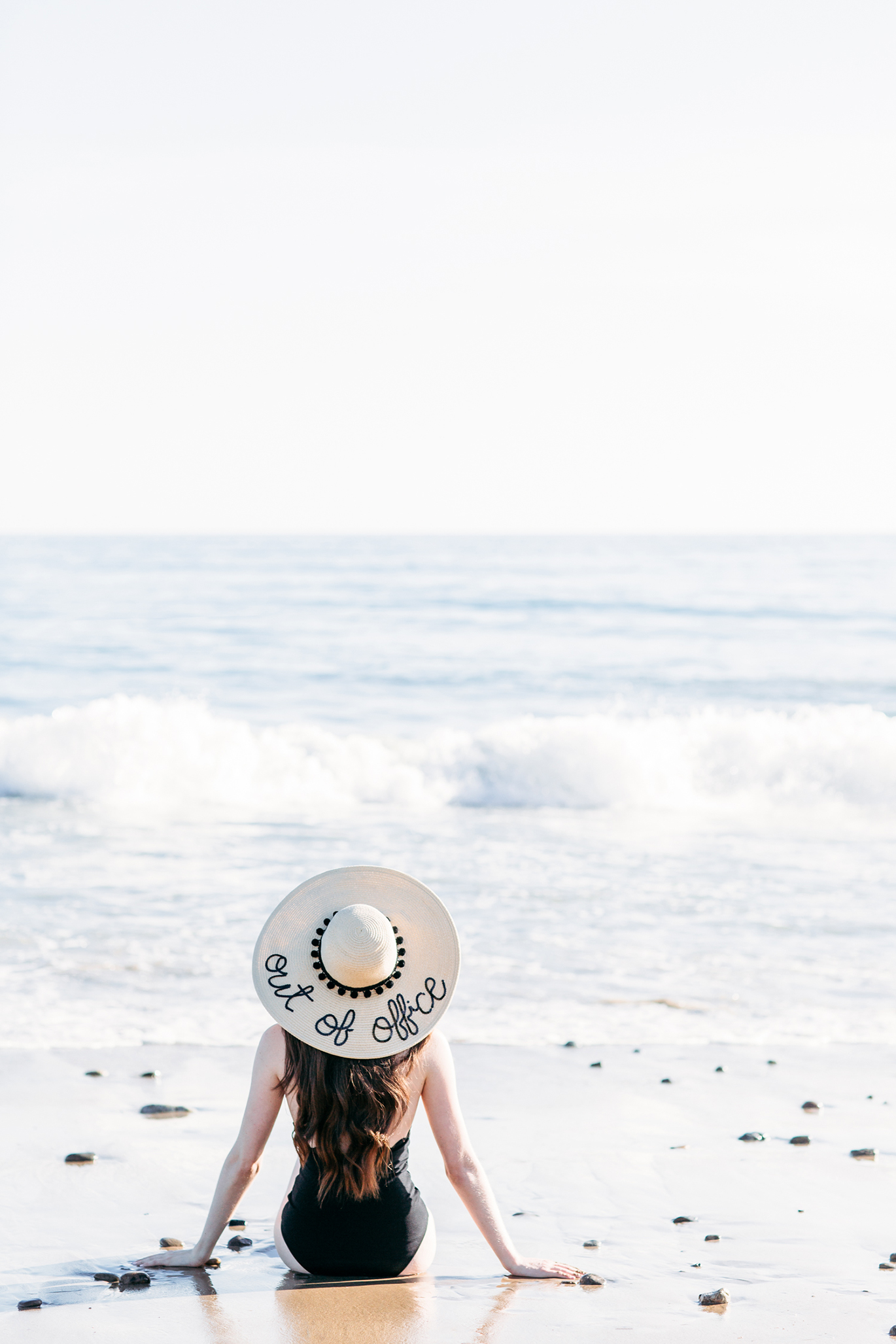 Hats By Olivia out of office floppy hat