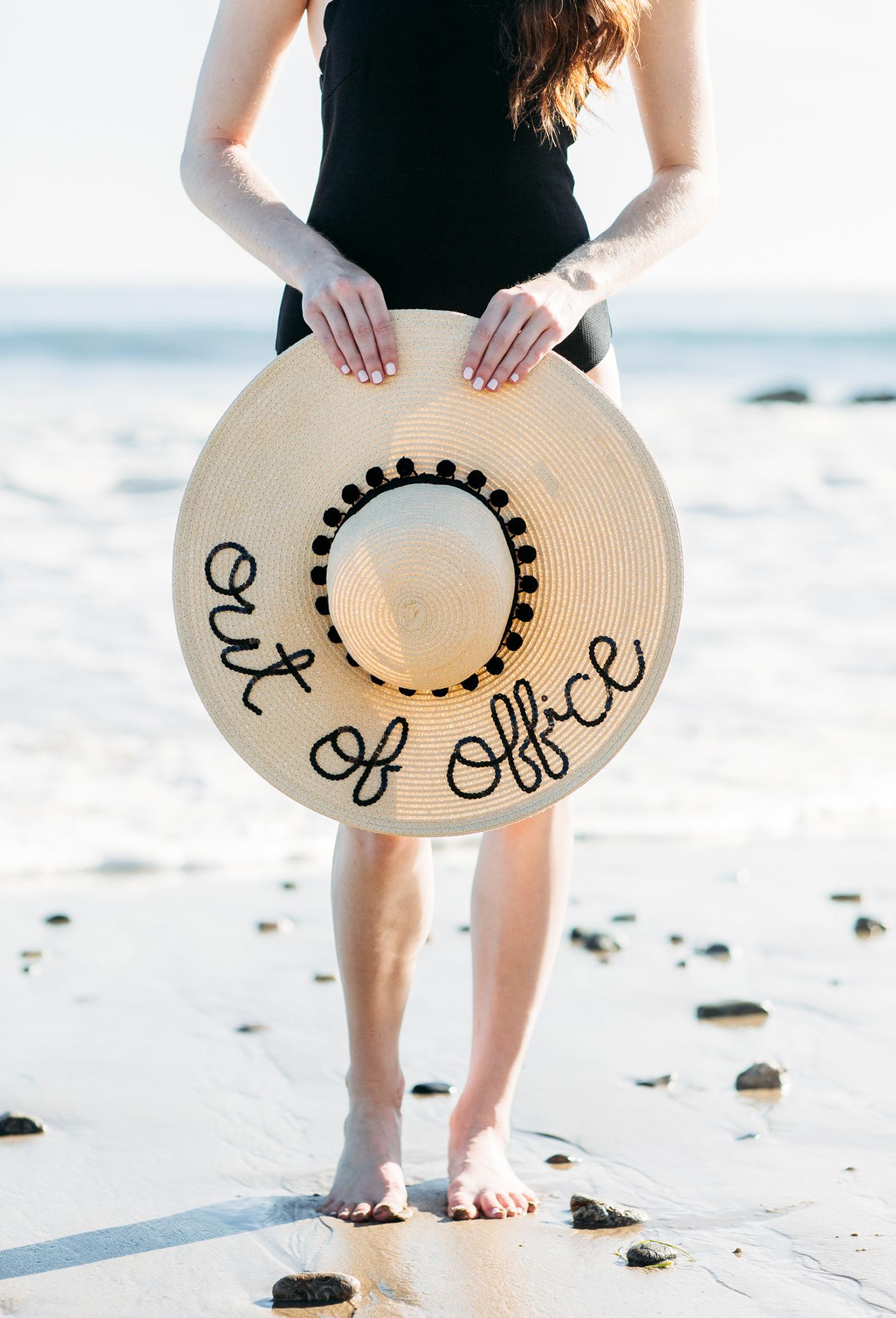 Cute beach hats