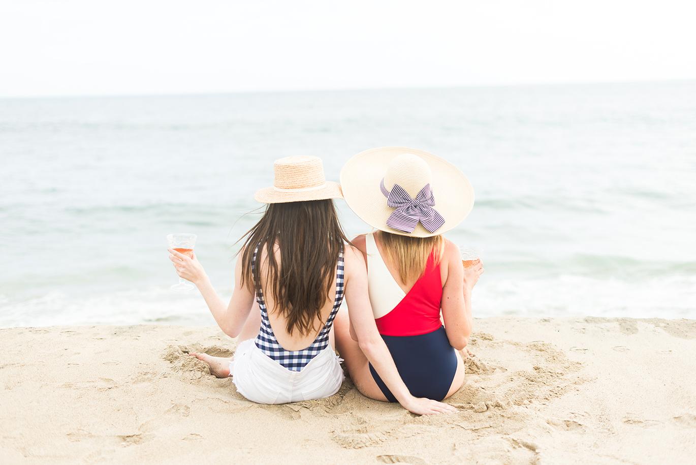 Best friends beach