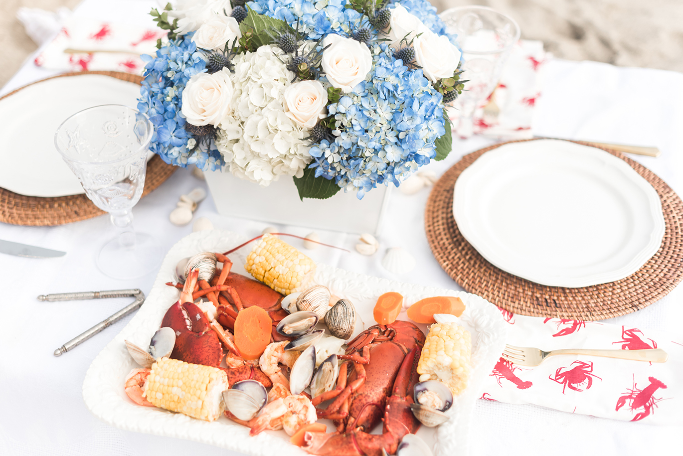Easy clambake recipe