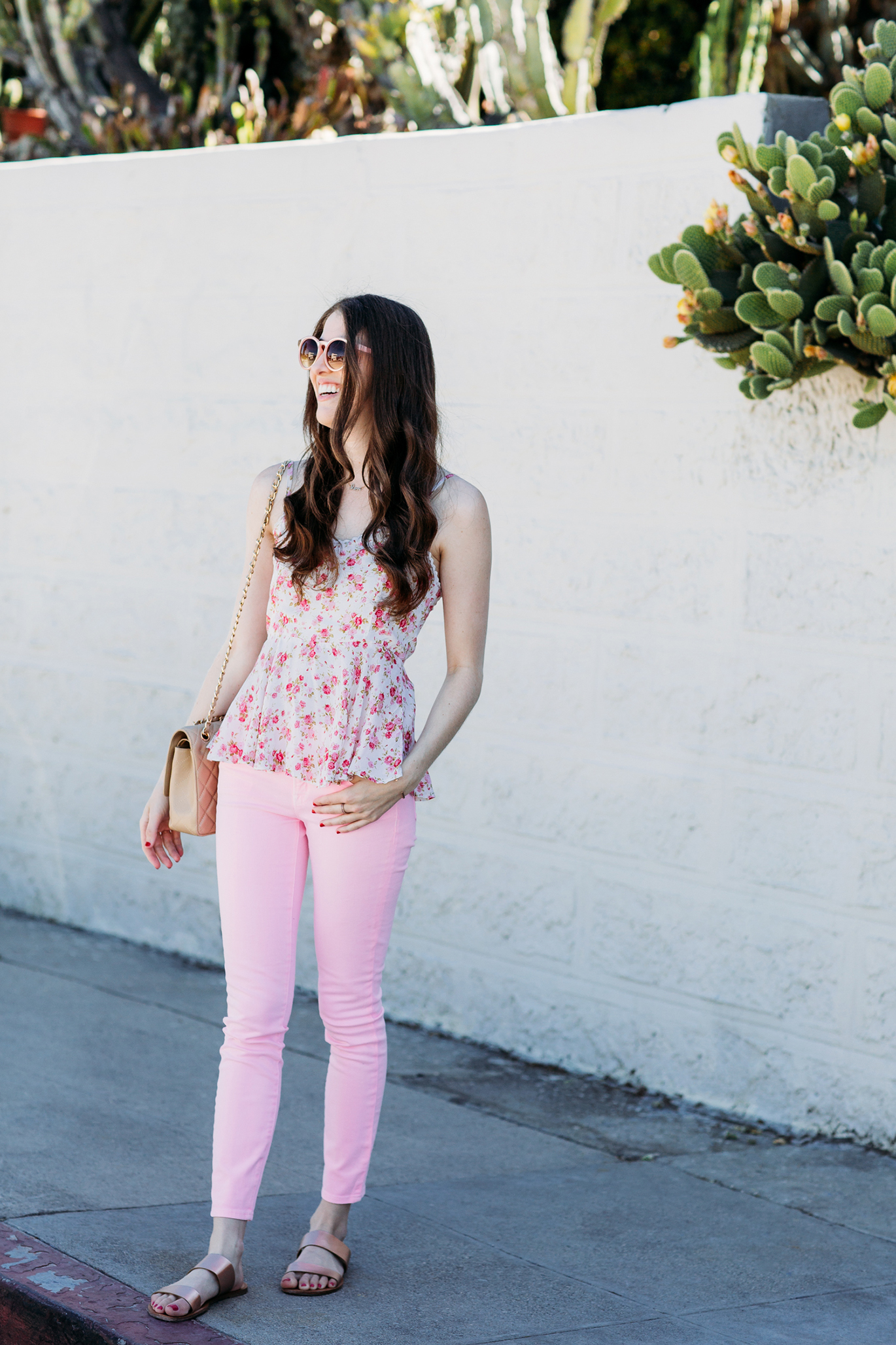J.Crew pink jeans
