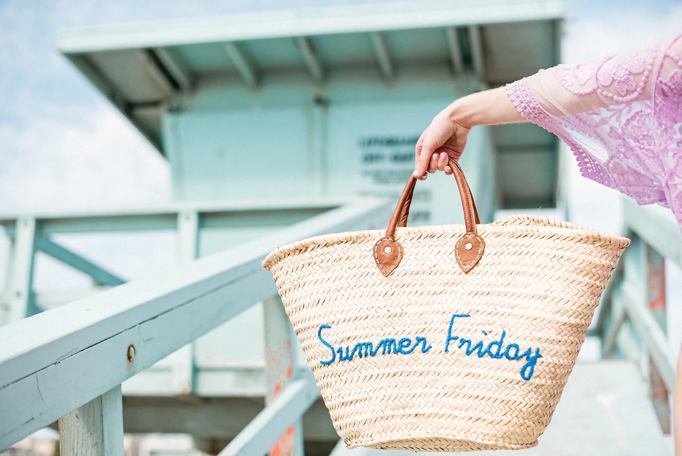 Summer Friday beach bag