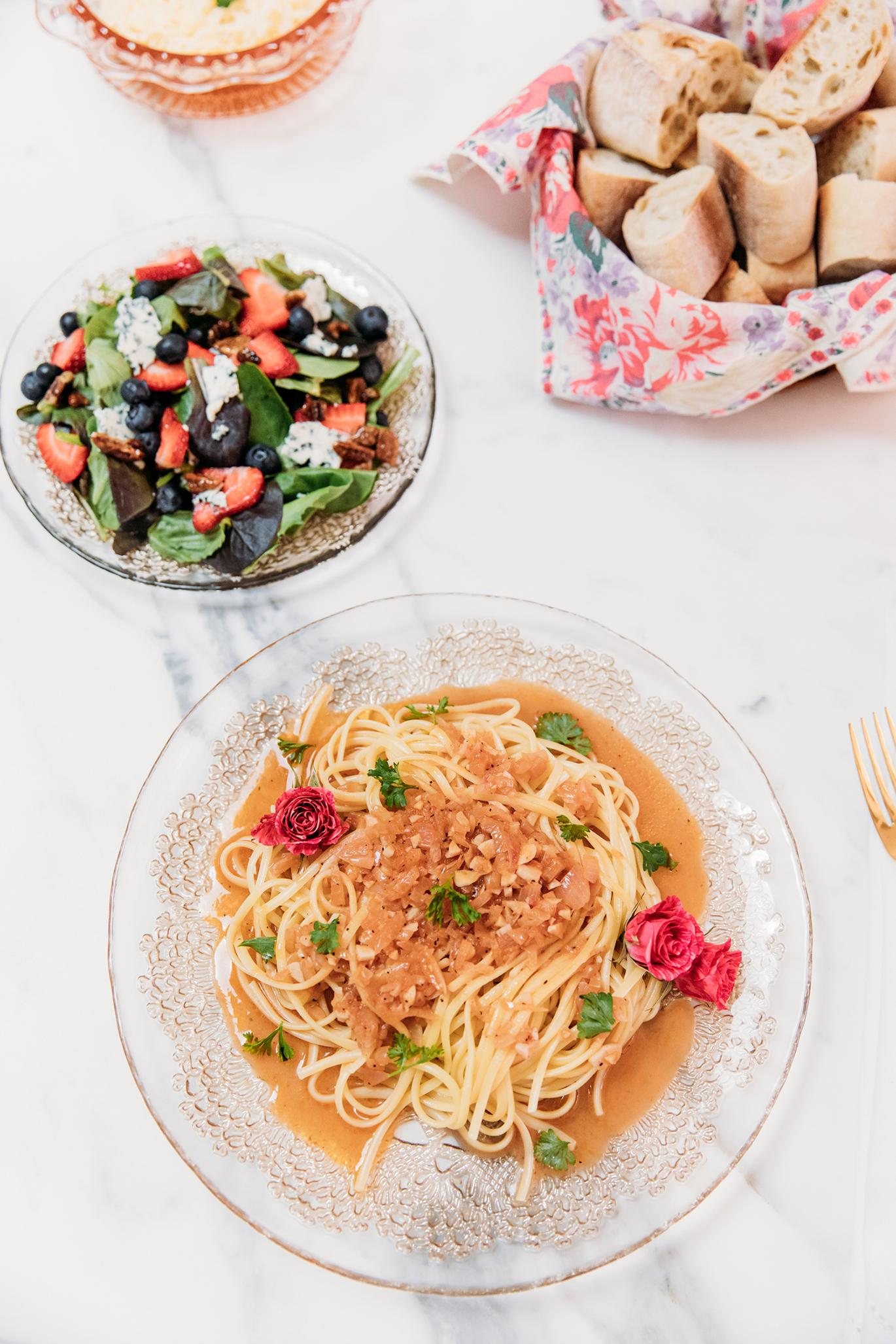 Rosé pasta