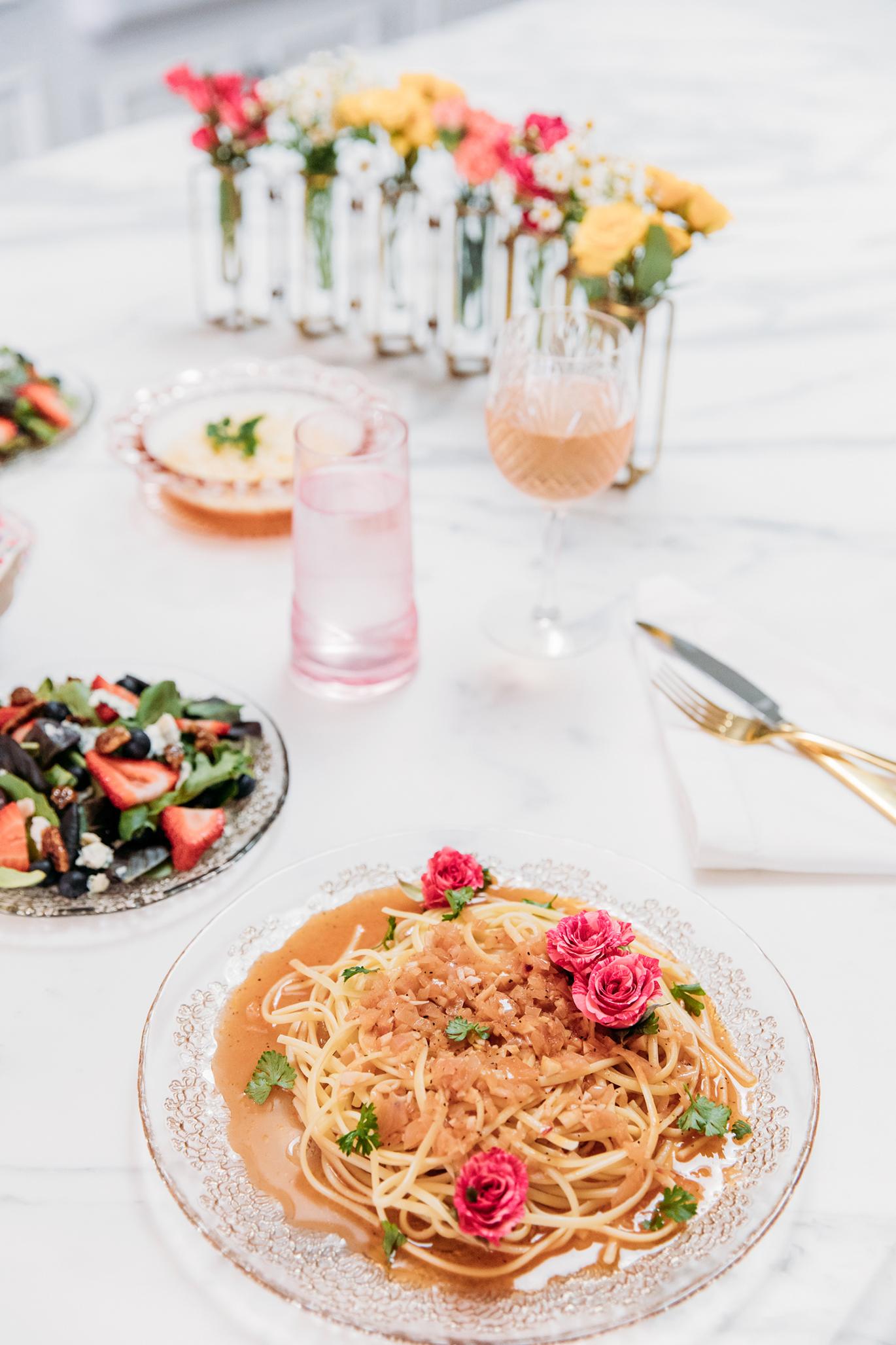 Grant Melton rosé pasta recipe