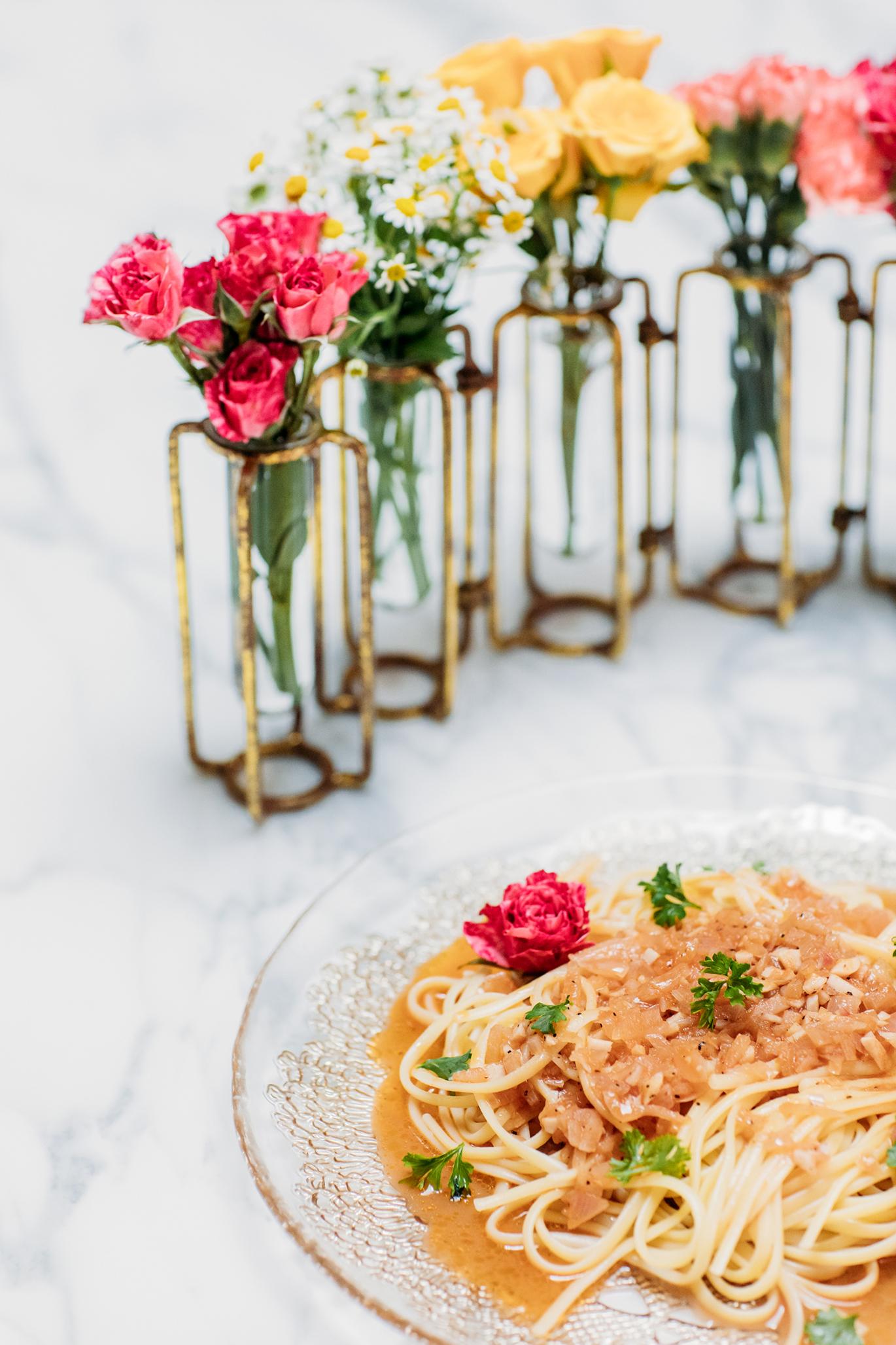 Summer pasta dish