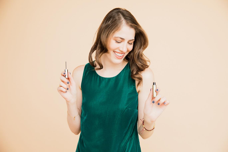 Glitter eyeliner how-to